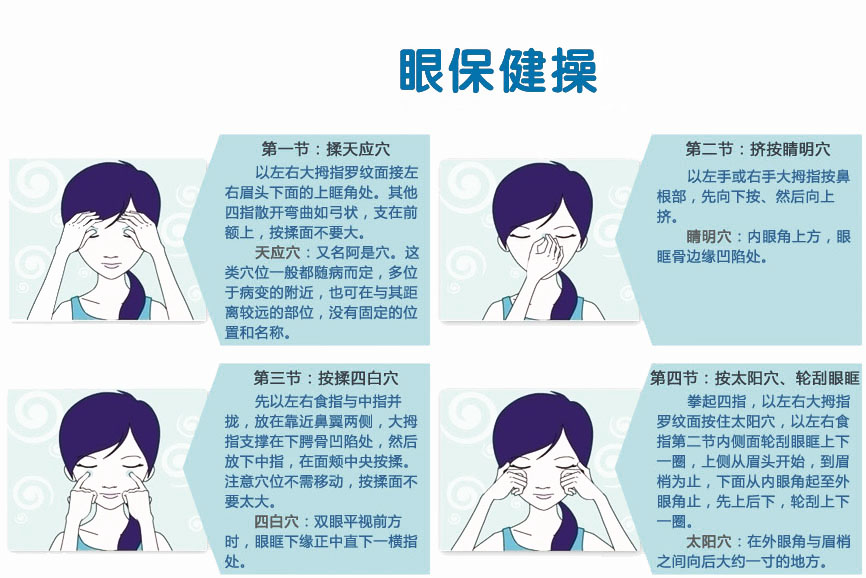 防治近视眼保健操