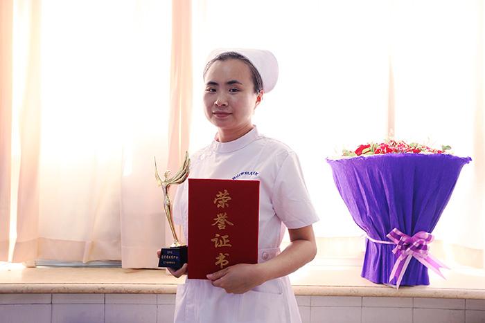 """妇儿医院新生儿科吴浩被评为""""辽宁省优秀护士"""""""