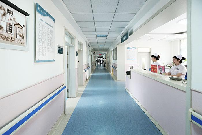 <h3>妇科病房走廊及护士站<h3>