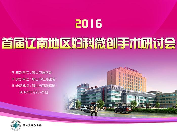 首届辽南地区妇科微创手术研讨会第二轮通知