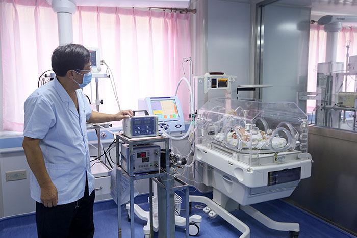 妇儿医院治疗新生儿肺动脉高压又有新突破