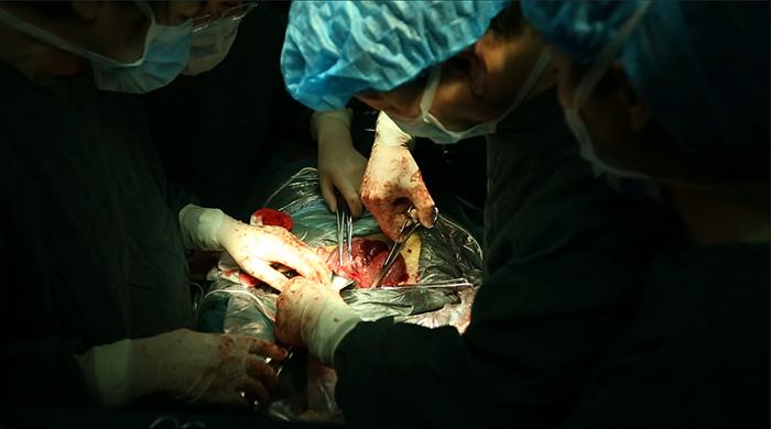 妇儿医院成功治愈一例凶险性瘢痕妊娠伴胎盘植入的患者