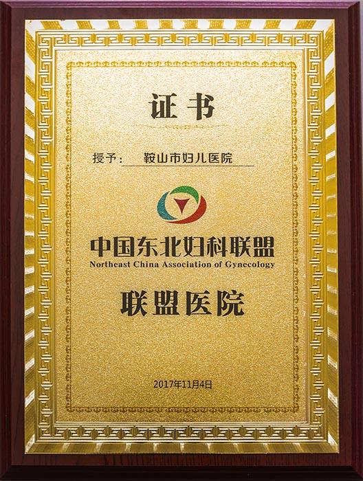 2017年 中国东北妇科联盟 联盟医院