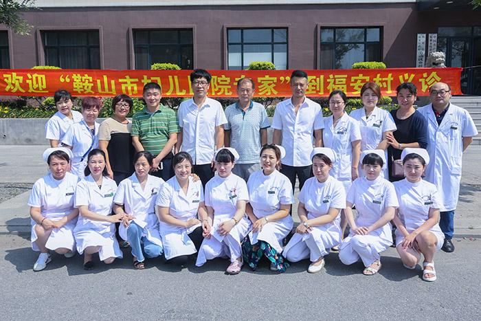 市妇儿医院开展下乡义诊活动
